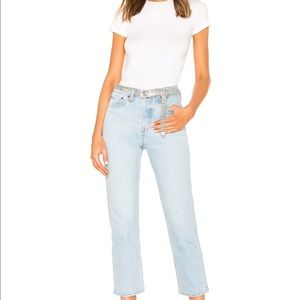 LEVI'S Wedgie Straight Jeans in Dibs